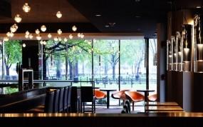 Обои Интерьер ресторана: Мебель, интерьер, Ресторан, Разное