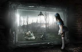 Обои Арт Sasha Fantom: Картина, Девочка, Арт, Разное