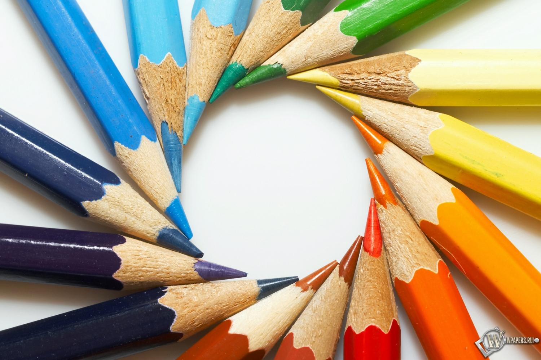 Цветные карандаши 1500x1000