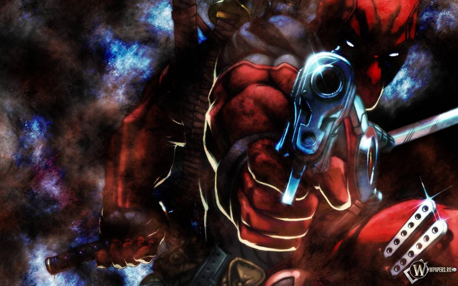 Deadpool gun 1536x960