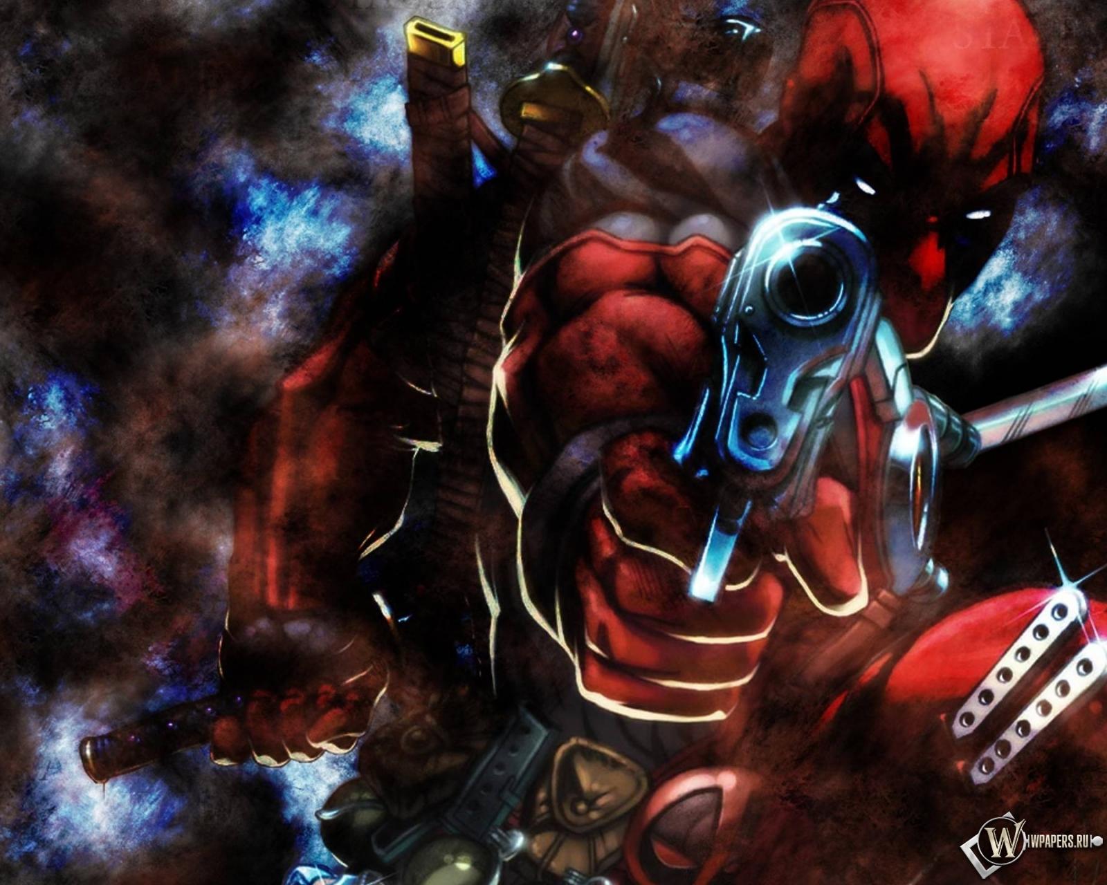 Deadpool gun 1600x1280