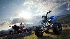 Обои Квадроцикл Yamaha: Мотоцикл, Yamaha, Разное