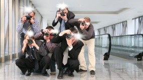 Обои Папарацци: Фотоаппарат, Мужчины, Разное