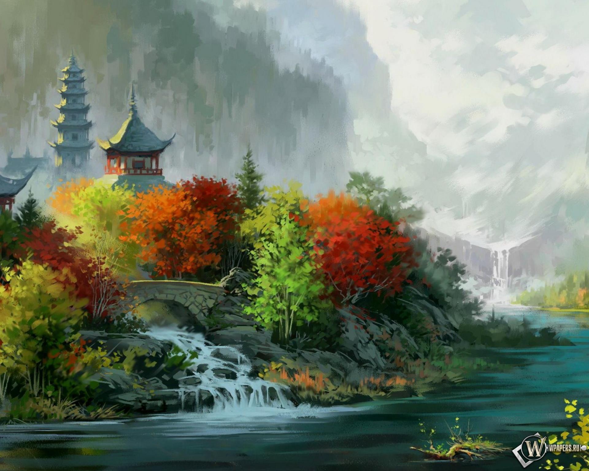 красочные картинки пейзажи стоит забывать авторском