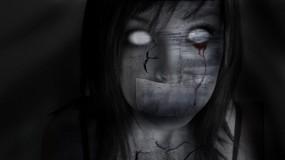Обои Девушка без глаз: Девушка, Готика, Страх, Разное