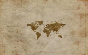 Обои Карта мира: Карта, Холст, Материки, Континенты, Разное