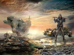 Обои Украина будующее: Машина, Корабль, Мужик, Разруха, Украина, Разное