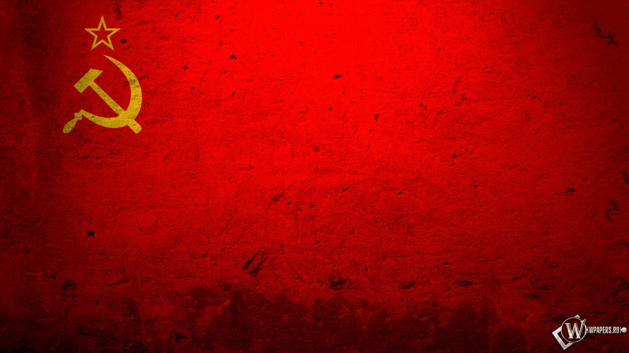скачать обои ссср ссср красный флаг для рабочего стола