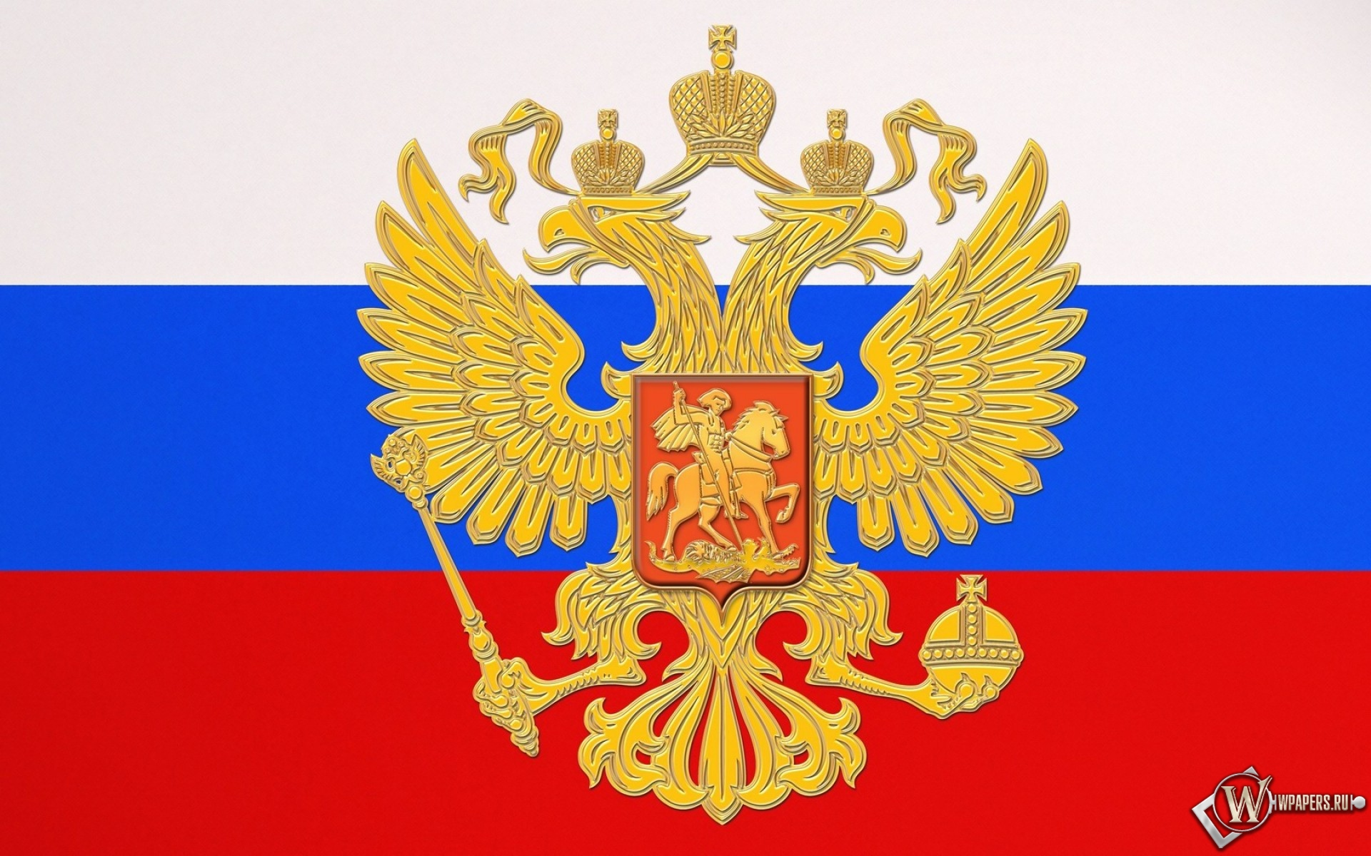 Флаг России 1920x1200