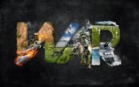 Обои Война: Война, Солдаты, Надпись, War, Разное