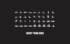 Обои Секс и спид: Смерть, Секс, Позы, Опасность, СПИД, Болезнь, Разное