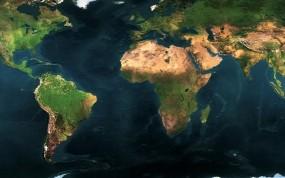 Обои снимок мира: Моря, Материки, Мир, Океаны, Разное