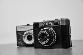 Обои фотоаппарат смена 8: Черно-белое, Фотоаппарат, Разное