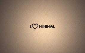 Обои Любовь к минимализму: Любовь, Минимализм, Сердечко, Разное