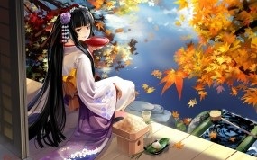 Осенняя гейша