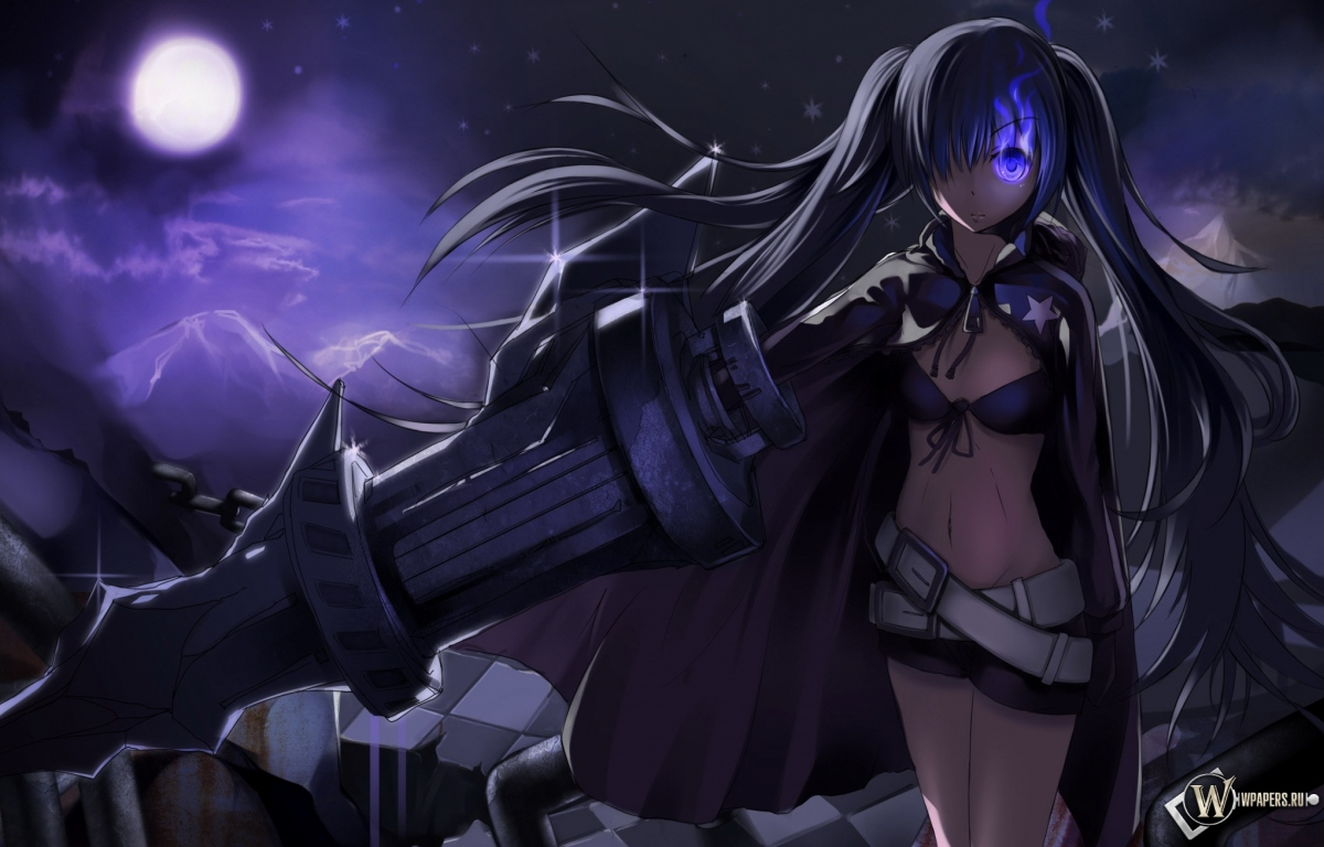 Black Rock Shooter 1200x768
