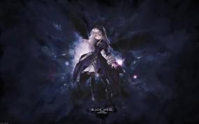 Обои Rosen Maiden: Крылья, Аниме, Rozen Maiden, Suigintou, Аниме