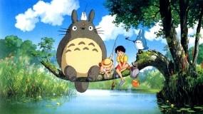 Обои My neighbour Totoro: Аниме, Totoro, Аниме