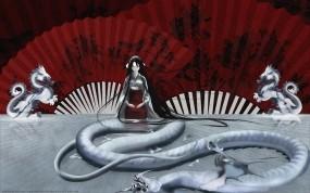 Обои Tenjou Tenge: Дракон, Аниме, Аниме