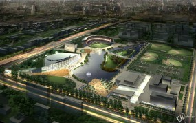 Обои 3D парк: , 3D архитектура