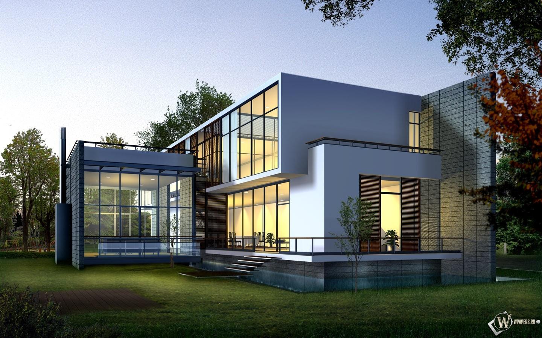 3D дом 1440x900