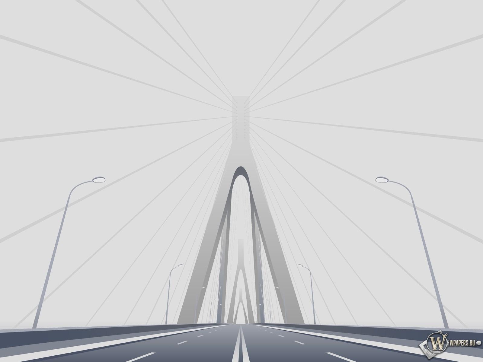Автомобильный мост 1600x1200