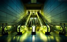 Обои Эскалатор: Эскалатор, Прочая архитектура