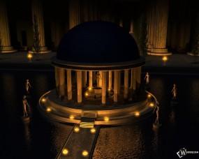 Обои Святилище венеры: , Прочая архитектура