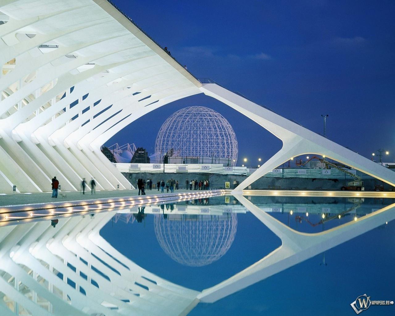 City of Arts and Sciences Valencia Spain 1280x1024