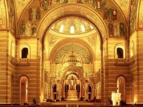 Обои Церковь Сэнт-луис: Церковь, Миссури, Сент-Луис, Прочая архитектура