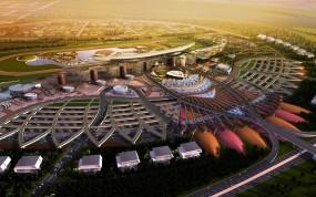 Обои Dubai Autodrome: Автодром, Дубай, Прочая архитектура