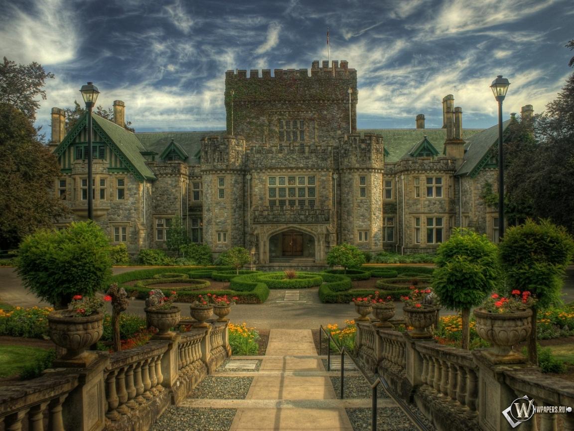 Старинный замок 1152x864