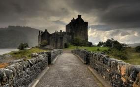 Обои Замок Эйлен-Донан: Замок, Замки