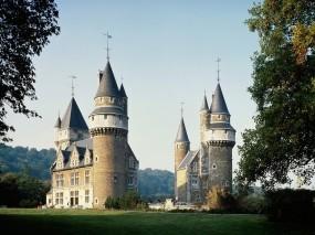 Обои Замок в Бельгии: Лес, Замок, Бельгия, Замки