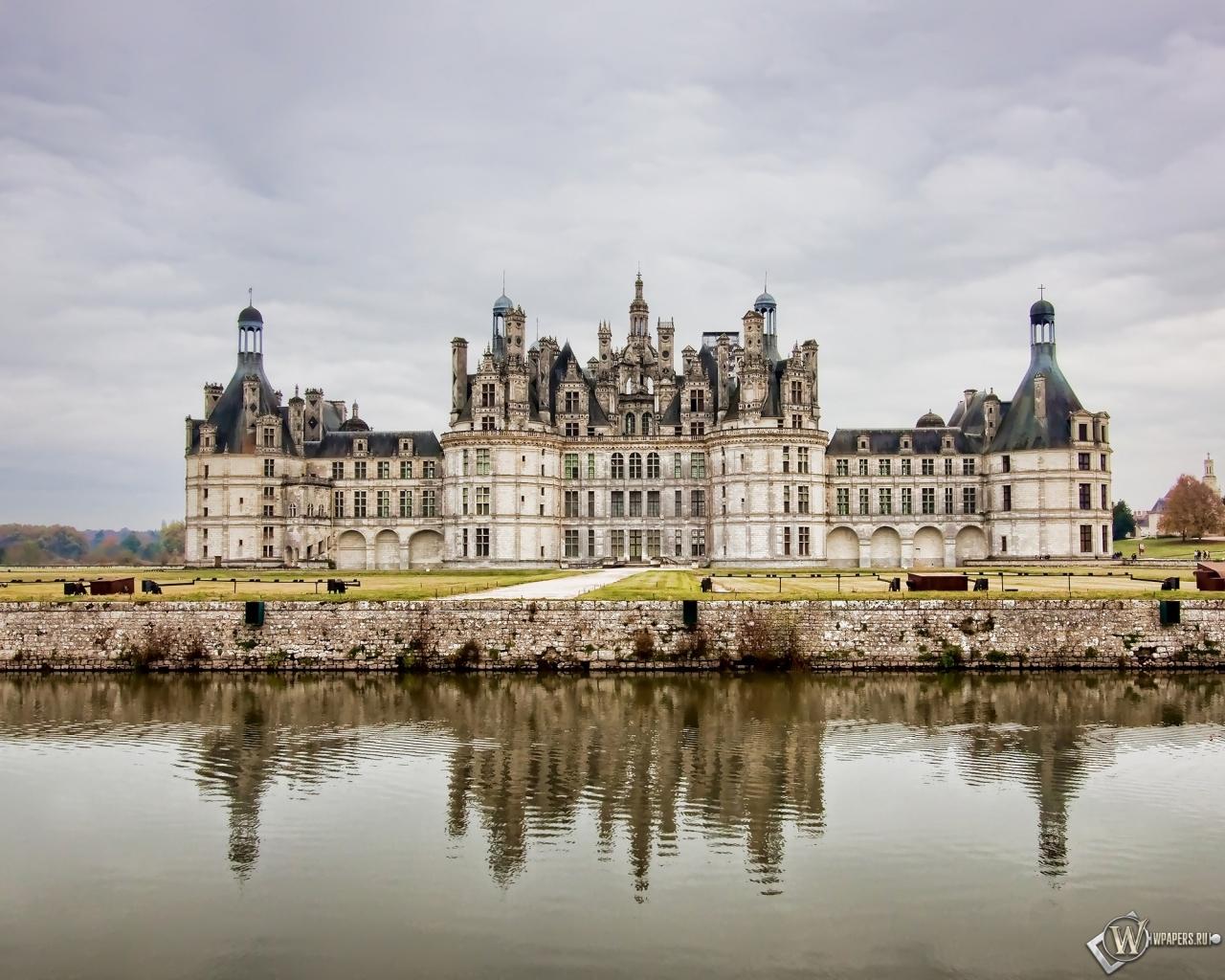 Замок во Франции 1280x1024