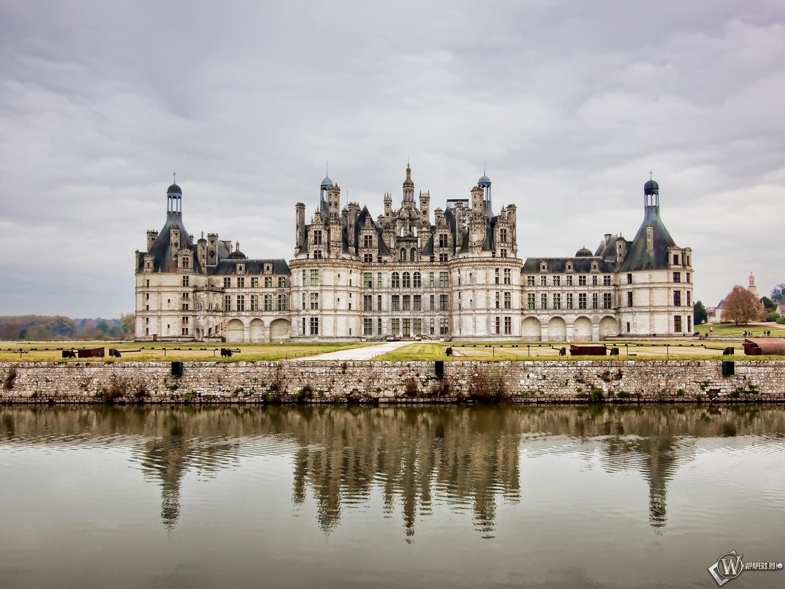 Замок во Франции 2560x1920