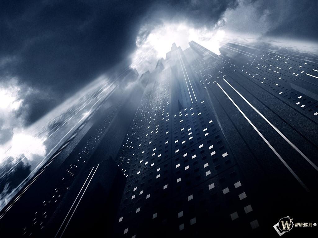 Небоскрёб будущего 1024x768