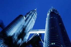 Обои Башни-близнецы в Малайзии: Небо, Малайзия, Города
