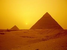 Обои Пирамиды в Гизе: Город, Египет, Гиза, Пирамиды, Города