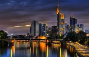 Обои Франкфурт на Майне: Небо, Германия, Франкфурт-на-майне, Города