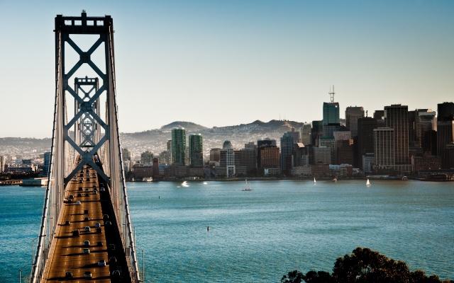 The Bay Bridge Сан-Франциско Калифорния