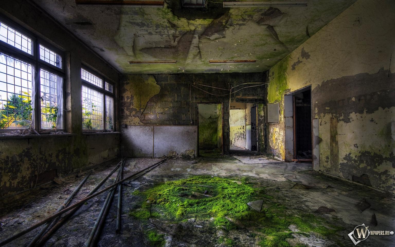 Заброшенное здание 1536x960
