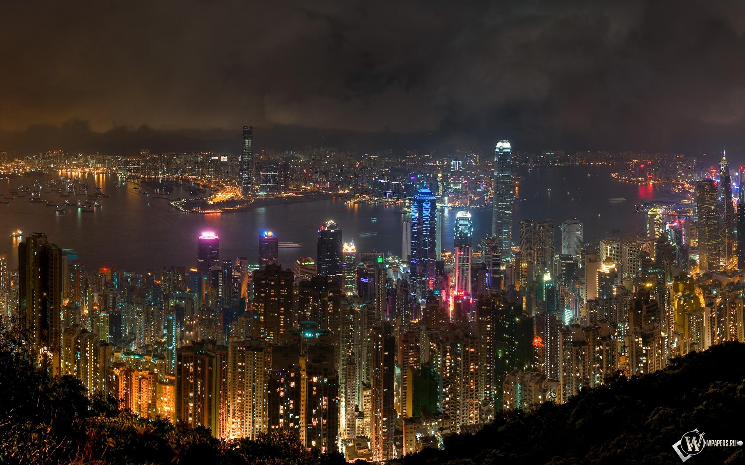 ночь город картинки красивые