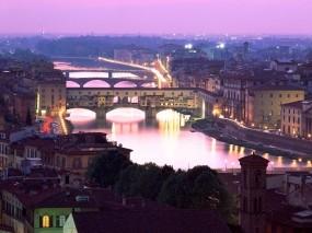 Обои Флоренция Италия: Город, Мост, Италия, Города