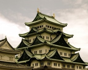 Обои Китайская крыша: Здание, Китай, Крыша, Города