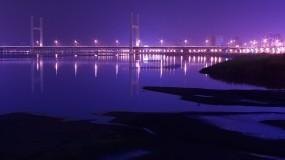 Обои Тайвань: Огни, Мост, Ночь, Китай, тайвань, Города