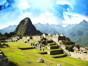 Обои Мачу-Пикчу Перу: Город, Небо, Перу, Города