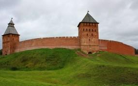 Обои Кремль Великий Новгород: Город, Кремль, Россия, новгород, Города