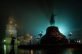 Обои Памятник Богдану Хмельницкому Киев: Город, Площадь, Украина, Киев, Города