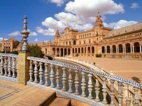 Обои Андалусия: Город, Испания, Города